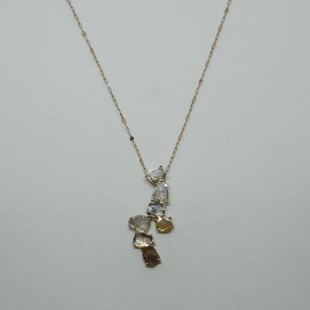 Pendentif Andréane - Diamant