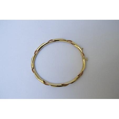 Bracelet Darla - Or jaune et or rose