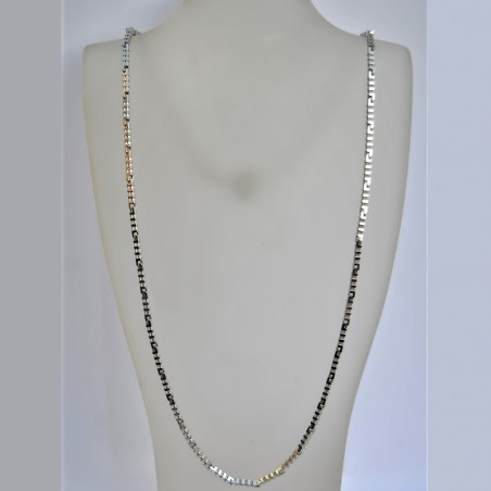 Collier Diamanta - Or blanc