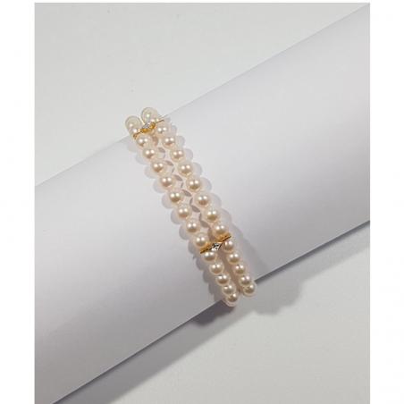 Bracelet Fendya - Perles et or jaune