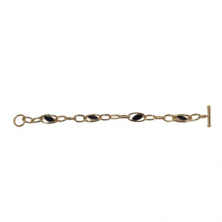 Bracelet Fella - Or et laque