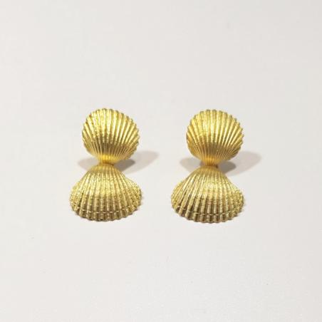 Boucles d'oreilles Flamia - Or