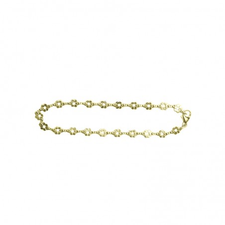 Bracelet Capucine - Fleurs en or